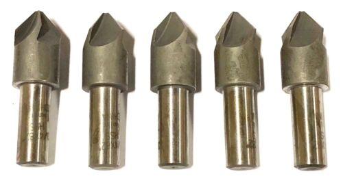 "3/4"" Machine Countersink 4 Flute 82 Degree High Speed Steel 5 Pack"