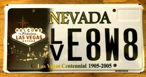 Las Vegas Nevada - Centennial License Plate