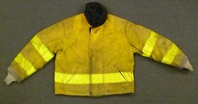 46x38 Cairns Firefighter Jacket Coat Bunker Turn Out Gear J755