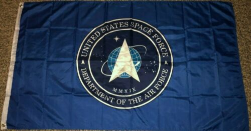 NEW SPACE FORCE UNITED STATES BLUE 3x5ft PREMIUM QUALITY FLAG superior us sold