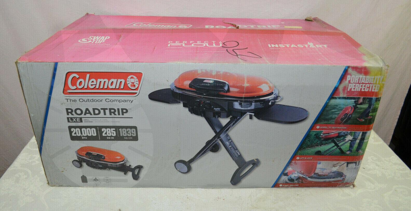 Coleman RoadTrip LXE 10,000 BTU 2-Burner Propane Grill