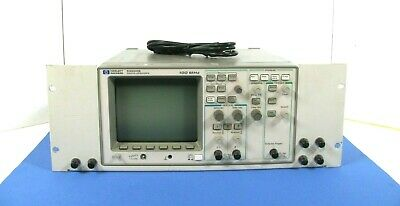 Hp 54600b Two Channel 100 Mhz Digital Oscilloscope Good Working