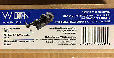 Wilton 11631 1-12-inch Ground Drill Press Vise