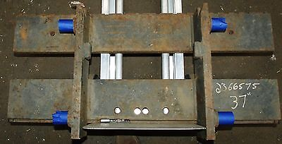 2366575 Clark Forklift Upright Mast Carriage Weld Class 2 Ii Used 37x16