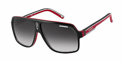 New Carrera Sunglasses 27 XAV9O Black Red Sports Racing 100/% Genuine Designer
