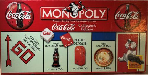 Coca Cola/Coke Monopoly Collector