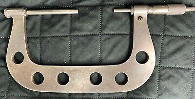 Vintage 6 Brown Sharpe Model 54 Micrometer Kit Anvils Standards Starrett Head