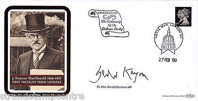 2000 Labour Party Centenary Cover - Signed GERALD KAUFMAN