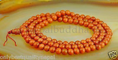 Mala Halskette Edelstein Gold Goldfluss Sunstone Perlenkette Mala Nepal 13c
