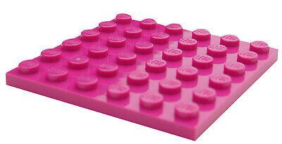 10x LEGO® Fliese//Kachel 2x4 87079 NEU Magenta