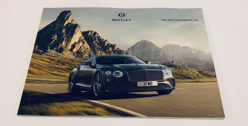 Bentley GT The New Continental GT Brochure
