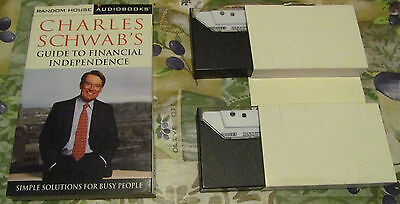 Charles Schwabs Guide To Financial Independencecharl Audiobook  2 Cassettes Nr