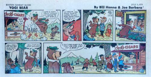 Yogi Bear by Eisenberg - Hanna-Barbera - color Sunday comic page - July 5, 1970