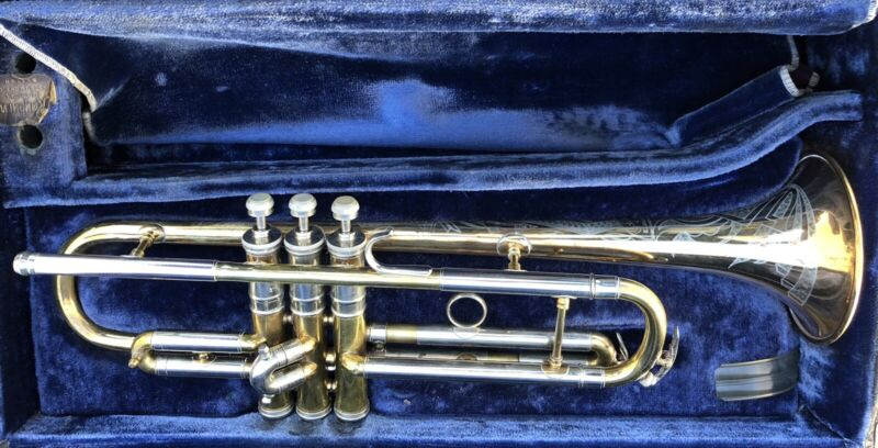 Vintage Conn 22B NY Symphony Special Trumpet And Case
