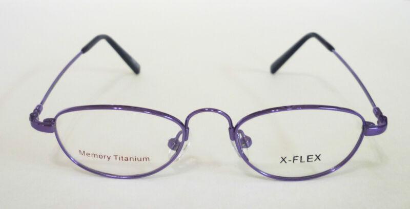 41-17-130 Memory TITANIUM Oval PRESCRIPTION Glasses FRAME Girls PINK/PURPLE $89