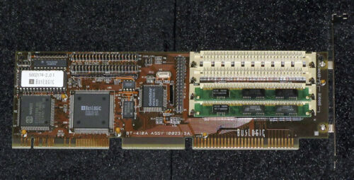 BusLogic BT-410A Floppy & IDE Hard Drive Caching Controller (VLB) With Cables