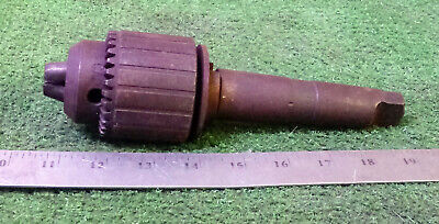 1 Used Jacobs 36kd Drill Chuck W Arbor 3 Taper Make Offer