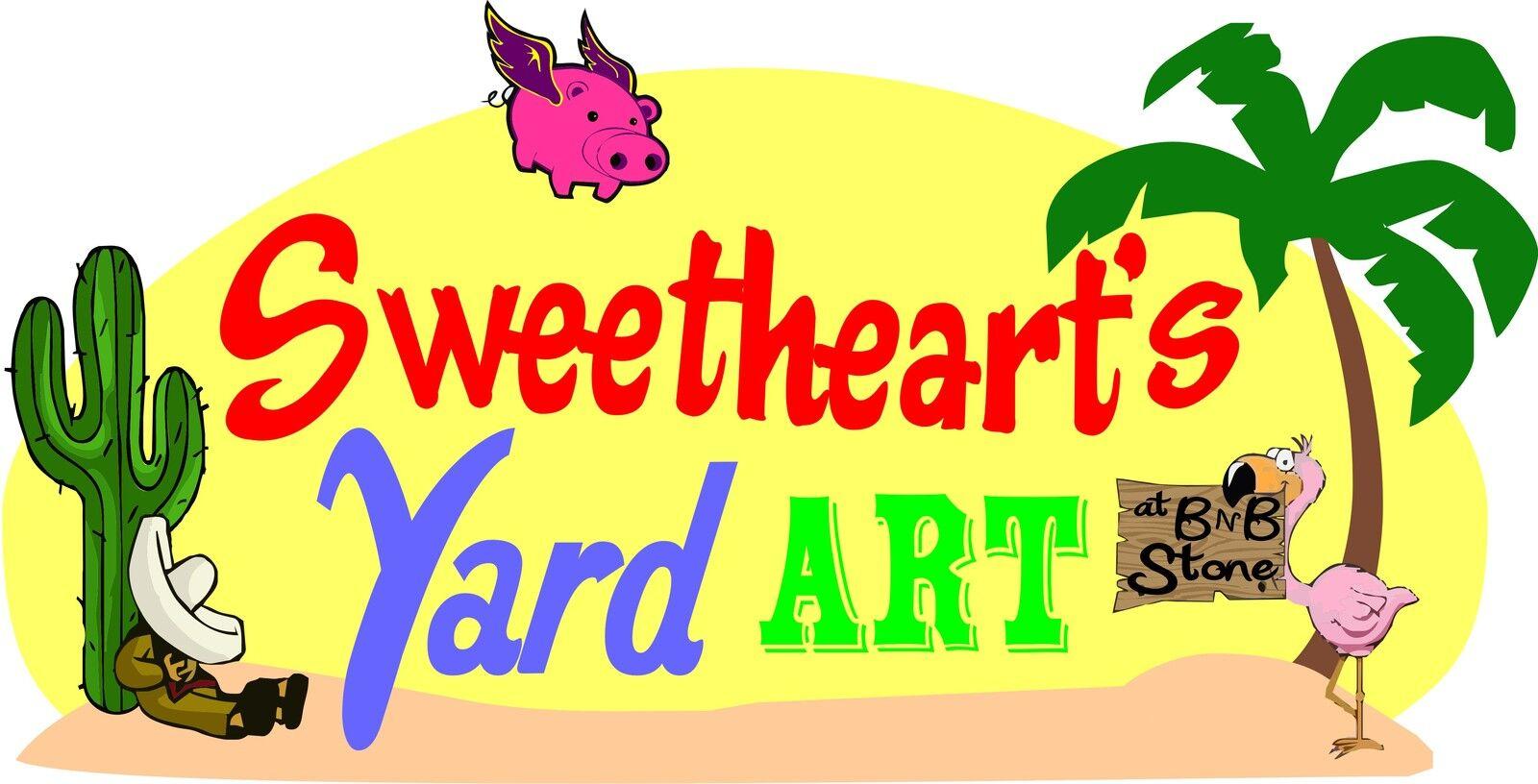 Sweetheart s Yard Art