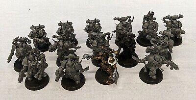 Warhammer 40k Chaos Space Marines Death Guard Plague Marines LOT - C99