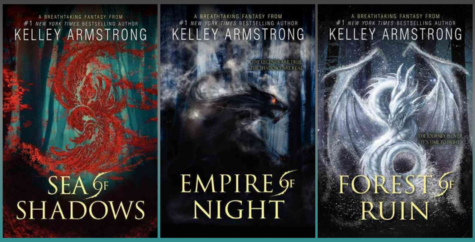 """Image for """"Kelley Armstrong Age of Legends Trilogy HC 1-3 by Armstrong, Kelley"""""""