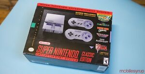 SNES Classic BNIB but can be modded