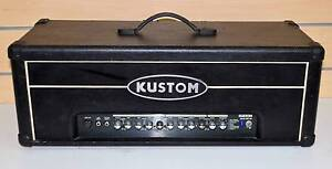 Kustom Quad 200HD Guitar Amp Head 200W Dual 3 Band #762195 Ipswich Ipswich City Preview