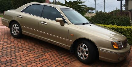 2001 Hyundai Grandeur Sedan Manly Manly Area Preview