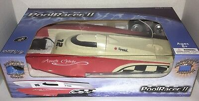 "Pool Racer 2 Remote Control Boat Twin Motors Dunn Rite 15.55"" D3"