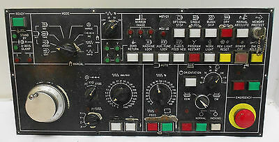 Fanuc Operator's Panel, Option Panel, # A13B-0042-C570, USED, WARRANTY