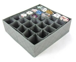 Periea-30-slots-Storage-box-wardrobe-organiser-drawer-organiser-socks-ties