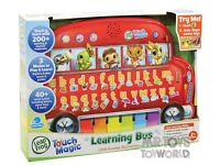 New educational learning musical toy bus