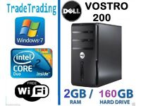 DELL VOSTRO 200 COMPUTER TOWER DESKTOP PC INTEL DUALCORE 2GB DDR2 160GB HDD-1