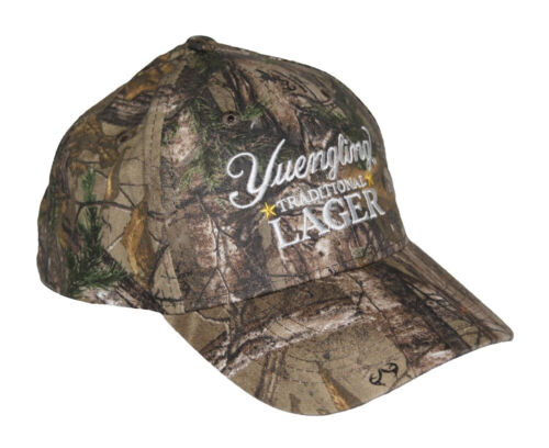 NEW Yuengling Baseball Hat Ball Cap Adult One Size RealTree Camo Camouflage