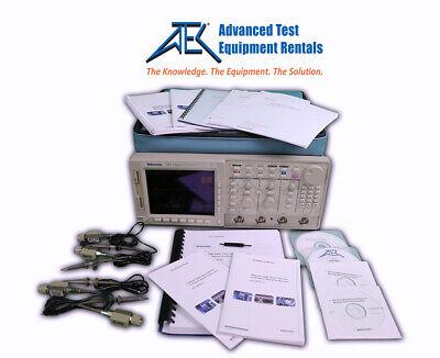 Tektronix Tds754a 4ch 500mhz 21 Gss Digital Oscilloscope W12f13