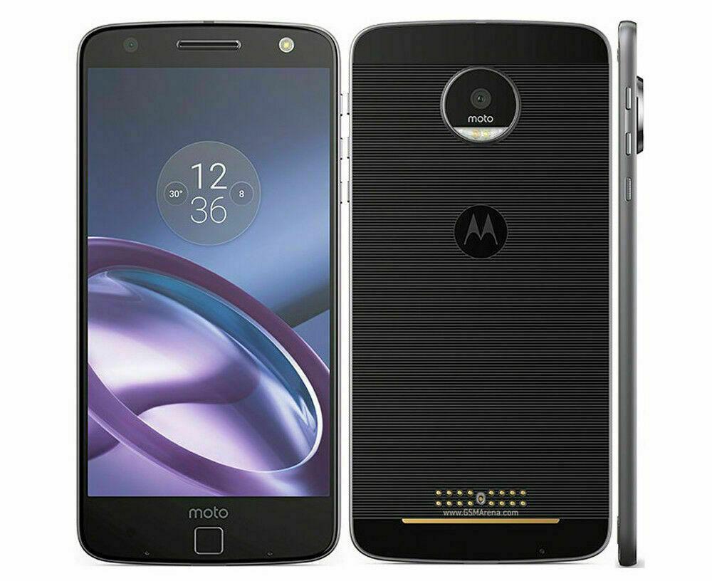 как выглядит MOTOROLA MOTO Z XT1650-01 EUROPE 4gb/64gb Black 13mp Fingerprint Android 4g LTE фото