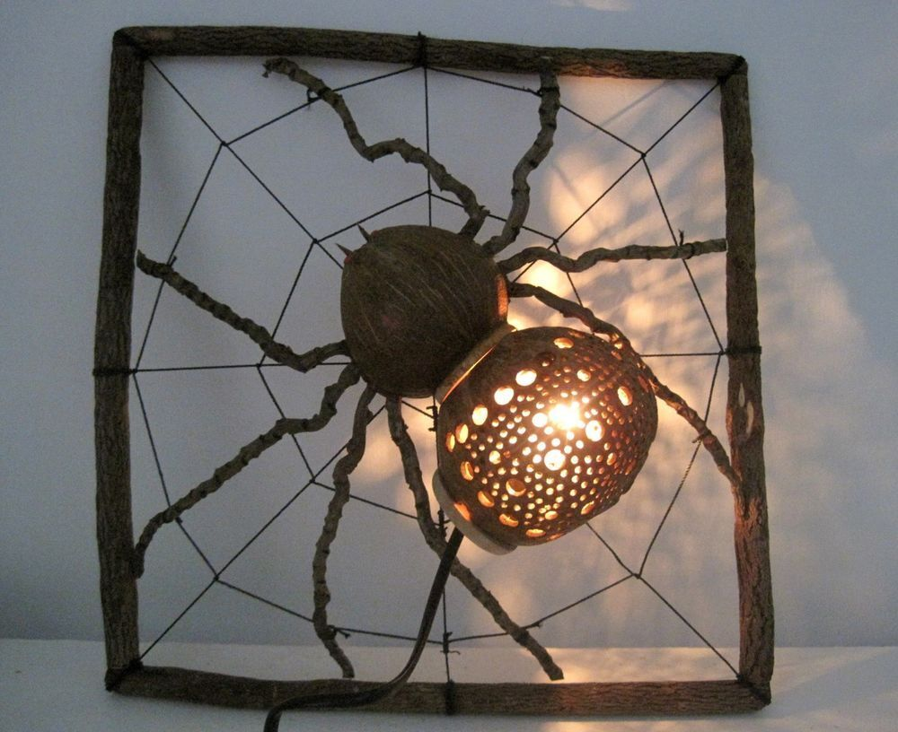 Coconut Shell Craft Lamp Spider In Brighton East Sussex Gumtree