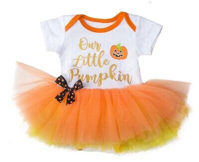 Ganz H8 Halloween Baby Mädchen 0-6mo Windel Hemd Tutu Einteiler Unser Kleiner