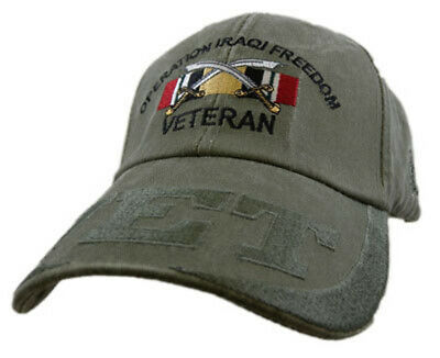 Operation Iraqi Freedom Veteran Hat / VET Baseball Cap