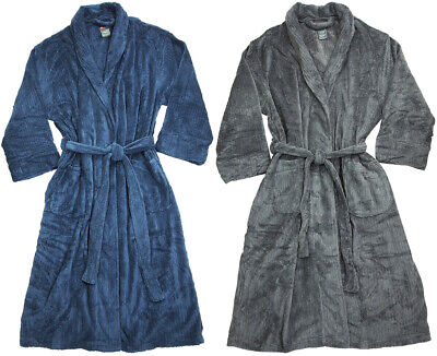 Hanes - Mens Classics Big and Tall Soft Touch Fleece - Big And Tall Robe