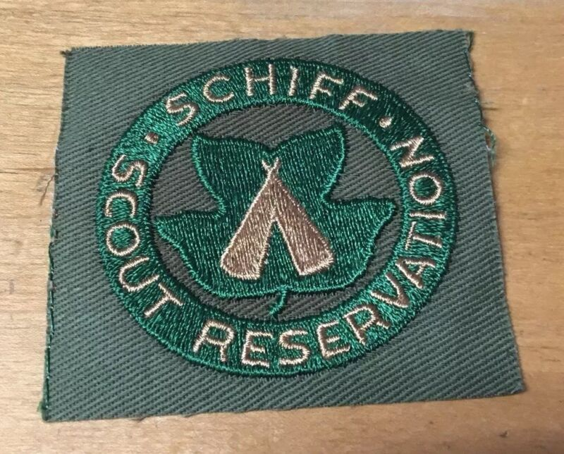 BOY SCOUTS SCHIFF SCOUT RESERVATION 1950
