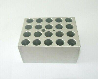 Thermolyne Bk165x 5a Aluminum Heating Block 20 Wells Modular