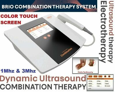 Brio Ultrasound Therapy Interferential Therapy Electrotherapy Color Touch Combo