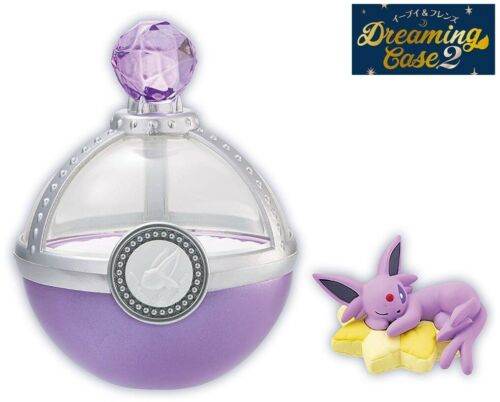 RE-MENT Pokemon Eevee & Friends Dreaming Case 2 Toy Figure Espeon Sleeping NEW