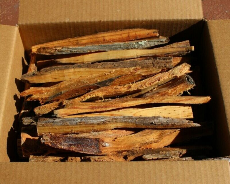 Fat Pine Kindling Lighter Knot Fire Starter Natural Fatwood 6 LBS From Florida
