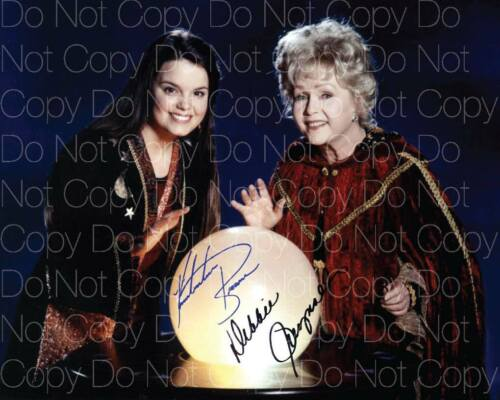 Halloweentown Debbie Reynolds signed 8X10 inch print photo picture poster RP
