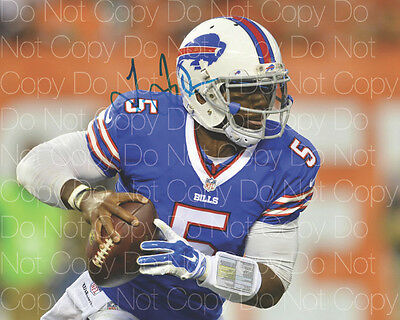 Tyrod Taylor Buffalo Bills 8X10 photo picture poster autograph RP