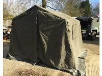 9x9 army Land Rover tent