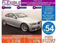 2010 BMW 325D 3.0 M-SPORT COUPE GOOD / BAD CREDIT CAR FINANCE AVAILABLE