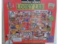 Horrible science jigsaw great condition loony lab