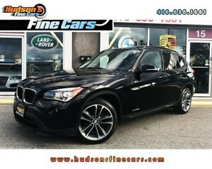 2015 BMW X1 xDrive28i SPORT PKG|AWD|ACCIDENT FREE|ONE OWNER